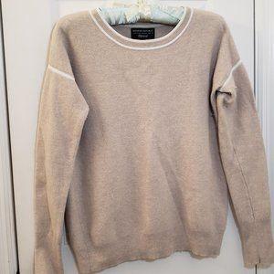 Banana Republic Sweater Tan White filpucci Vintage